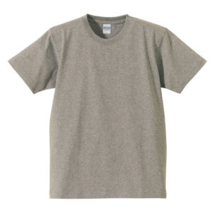 7.1オンス へヴィーウェイト Tシャツ(ミックスグレー)