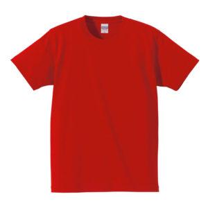 7.1オンス へヴィーウェイト Tシャツ(レッド)
