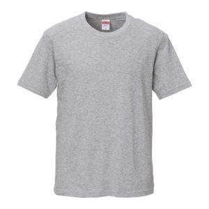 ミックスグレー色のTシャツ
