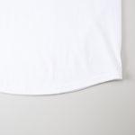 5.6オンスラグランTシャツの裾画像