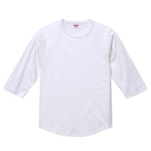 5.6オンスラグランTシャツ(ホワイト)