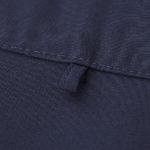 T/C オープンカラーシャツ(ネイビー)の拡大画像