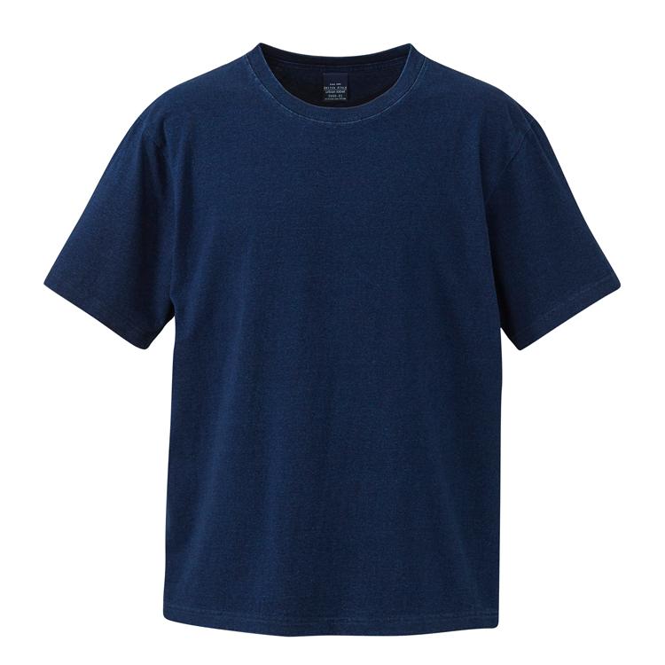 5.3オンスインディゴTシャツ(ダークインディゴ)