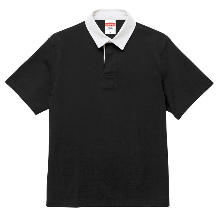 8.3オンスショートスリーブラガーシャツ(ブラック)