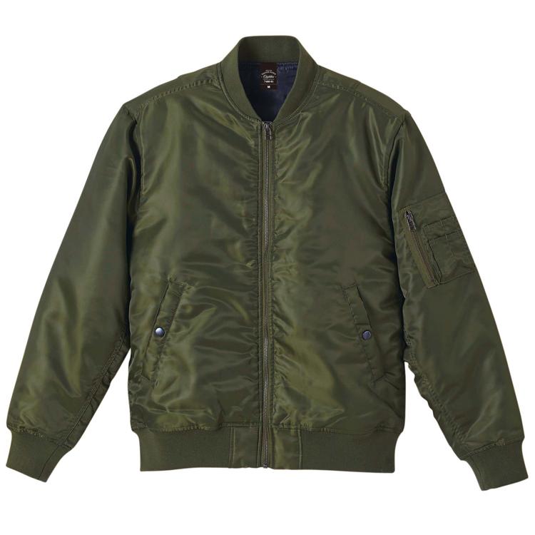 タイプMA-1の中綿入ジャケット(OD)