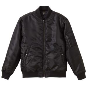 タイプMA-1の中綿入ジャケット(ブラック)