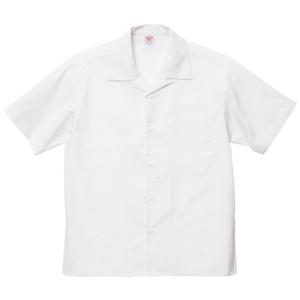 T/C オープンカラーシャツ(オフホワイト)