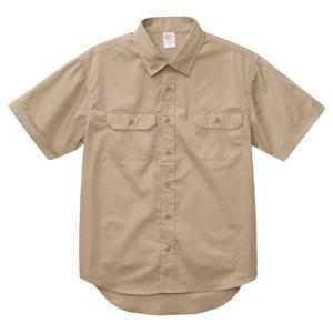 T/C ワークシャツ(モカベージュ )