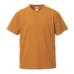 5.6オンスロングスリーブTシャツ(キャメル)