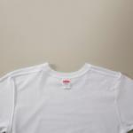 5.6オンスロングスリーブTシャツ(ホワイト)の内面