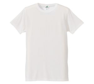 4.4オンス生地のトライブレンドTシャツの画像(バニラホワイト)