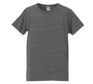 4.4オンス生地のトライブレンドTシャツの画像(ヴィンテージヘザー)