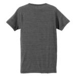 4.4オンス生地のトライブレンドTシャツの背面画像(ヴィンテージヘザー)