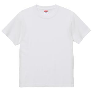 6.0オンス生地のオープンエンドヘヴィーウェイトTシャツの画像(ホワイト)