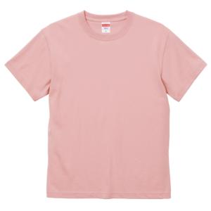 6.0オンス生地のオープンエンドヘヴィーウェイトTシャツの画像(オフピンク)