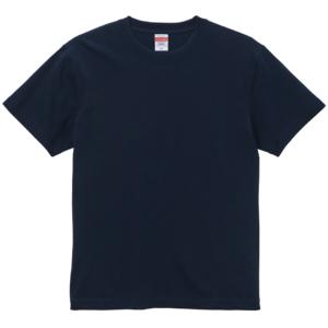6.0オンス生地のオープンエンドヘヴィーウェイトTシャツの画像(ディープネイビー)