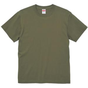 6.0オンス生地のオープンエンドヘヴィーウェイトTシャツの画像(ライトオリーブ)