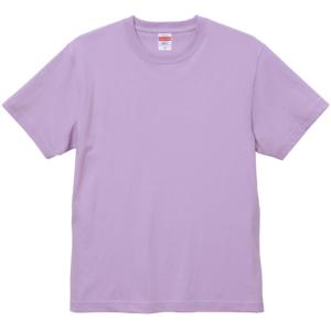 6.0オンス生地のオープンエンドヘヴィーウェイトTシャツの画像(ライトパープル)