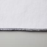 6.0オンス生地のオープンエンドヘヴィーウェイトTシャツの内側縫い目の画像(ホワイト)