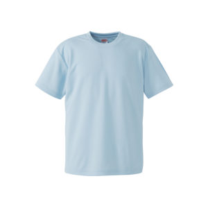 4.1オンスのドライアスレチック素材のTシャツ(アイスグレー)