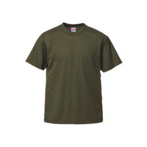 4.1オンスのドライアスレチック素材のTシャツ(OD)