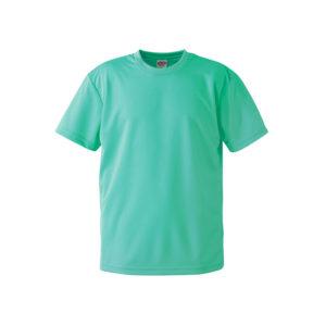 4.1オンスのドライアスレチック素材のTシャツ(ミントグリーン)