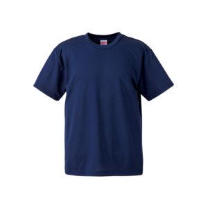 4.1オンスのドライアスレチック素材のTシャツ(インディゴ)