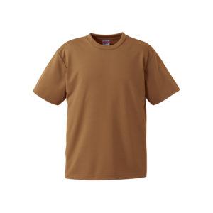 4.1オンスのドライアスレチック素材のTシャツ(コヨーテ)