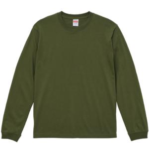 5.6オンスロングスリーブTシャツ(ライトオリーブ)