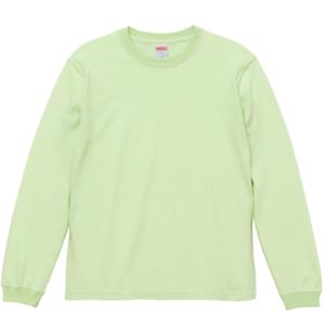 5.6オンスロングスリーブTシャツ(ミルキーライム)