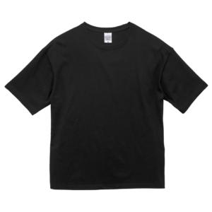 5.6オンスビックシルエットTシャツ(ブラック)