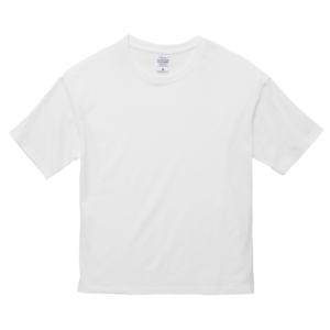 5.6オンスビックシルエットTシャツ(ホワイト)